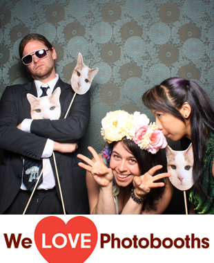 Th Green Building Photo Booth Image