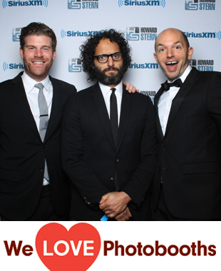 Howard Stern's Birthday Bash Photo Booth Image