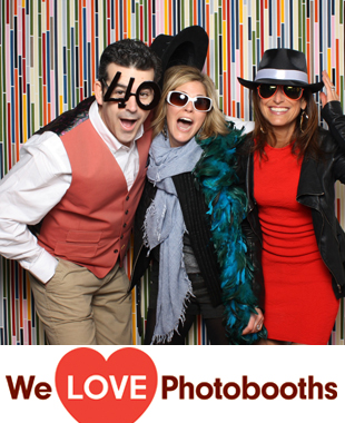 CT Photo Booth Image from Waveney Carriage Barn in New Canaan, CT