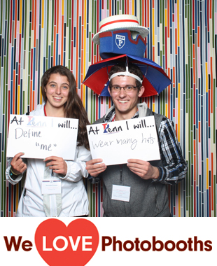 PA Photo Booth Image from The Franklin Institute in Philadelphia, PA