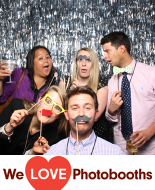 The Glass Houses Photo Booth Image