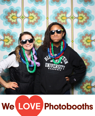 Houston Hall -- Hall of Flags Photo Booth Image