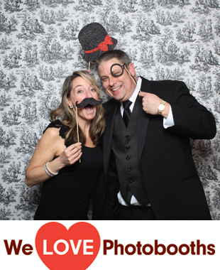 NY Photo Booth Image from Tarrytown House Estate  in Tarrytown, NY