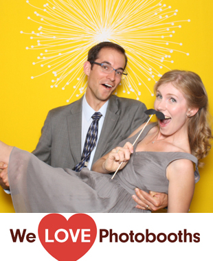 NJ Photo Booth Image from Calvary Episcopal Church in Summit, NJ
