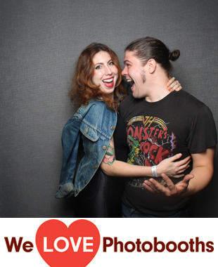 NY Photo Booth Image from Saint Vitus in Brooklyn, NY