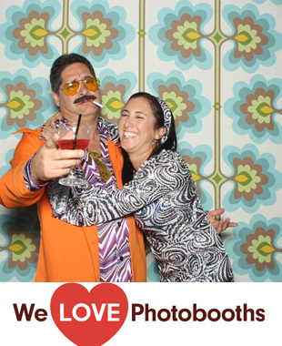 NJ Photo Booth Image from The Raven and the Peach in Fair Haven, NJ