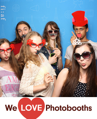 French Institute Alliance Francaise (FIAF) Photo Booth Image