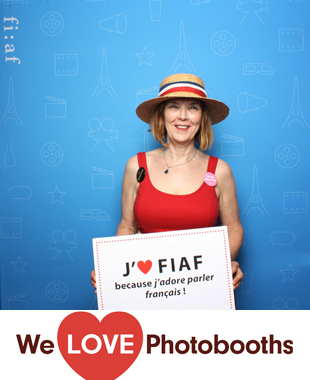 NY Photo Booth Image from French Institute Alliance Francaise (FIAF) in NY, NY
