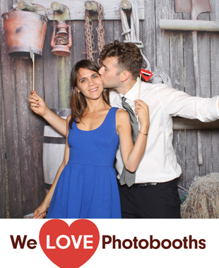 NY  Photo Booth Image from Blue Hill at Stone Barns in Pocantico Hills, NY