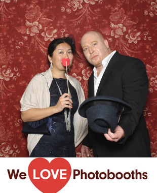 The Alger House Photo Booth Image