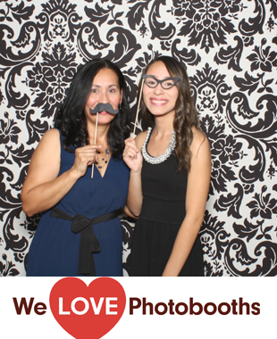 New York Photo Booth Image from Prince of Peace Church in Brooklyn, New York