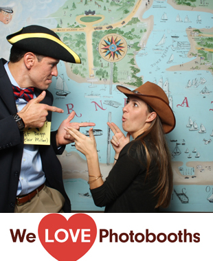 NJ  Photo Booth Image from Bay Head Yacht Club in Bay Head, NJ