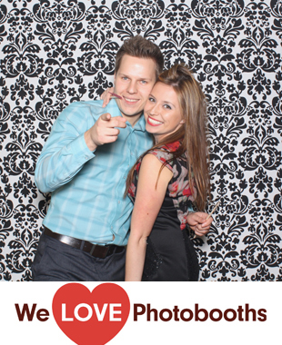 NY Photo Booth Image from Il Bacco Ristorante in New York, NY