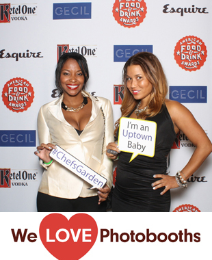 Esquire 2014 Food and Beverage Awards Photo Booth Image