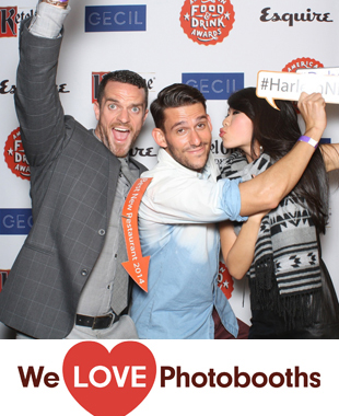 NY Photo Booth Image from Esquire 2014 Food and Beverage Awards in NY, NY