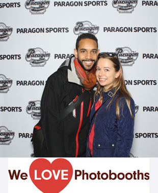NY  Photo Booth Image from Paragon Sports in New York, NY