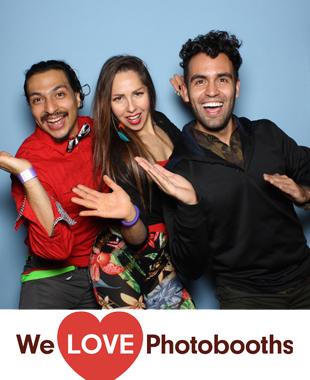 Bowlmor Times Square Photo Booth Image