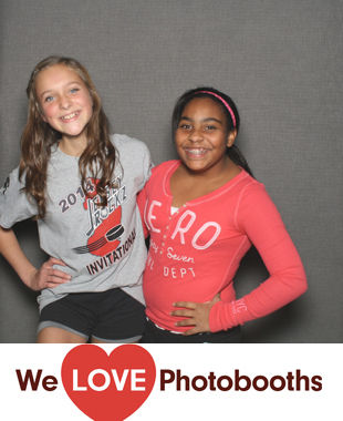 Shields Gymnastics Photo Booth Image