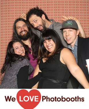 Fine and Raw Photo Booth Image