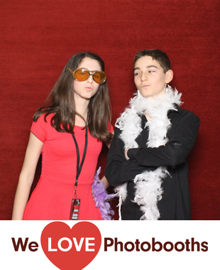 NJ Photo Booth Image from The Club at Orangelawn in South Orange, NJ