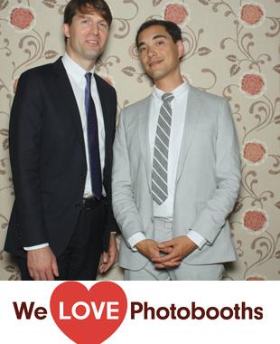 NY Photo Booth Image from Rainbow Room in New York, NY