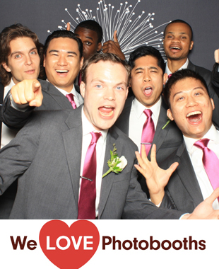 Above Rooftop Hilton Garden Inn  Photo Booth Image