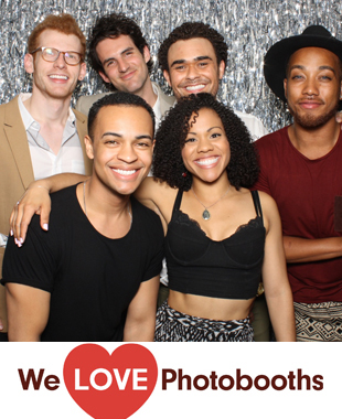 NY Photo Booth Image from Public Theater in New York, NY
