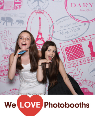 NY Photo Booth Image from The Rainbow Room in New York, NY