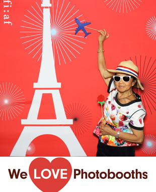 NY Photo Booth Image from French Institute Alliance Francaise in NY, NY