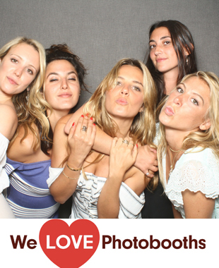 NY Photo Booth Image from Private Residence in Southampton, NY