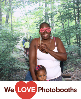 CT Photo Booth Image from John Dorr Nature Lab in North Bethlehem, CT