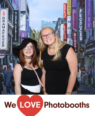 NJ Photo Booth Image from Prudential Center in Newark, NJ