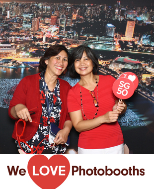 Singapore Consulate Photo Booth Image