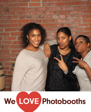 PA Photo Booth Image from New Liberty Distillery in Philadelphia, PA