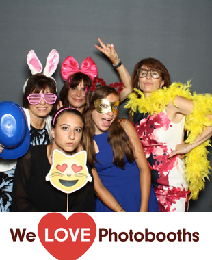 NY Photo Booth Image from Sunset Terrace, Sky Rink at Chelsea Piers  in New York, NY