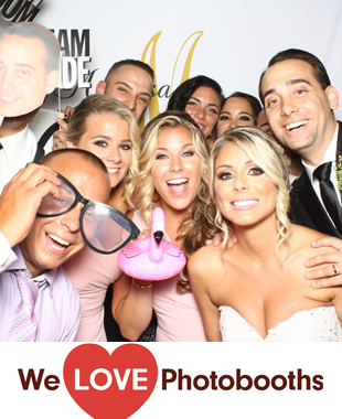 NY Photo Booth Image from VIP Country Club in New Rochelle, NY