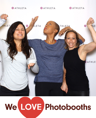 NY Photo Booth Image from Athleta Flatiron in 10011, NY