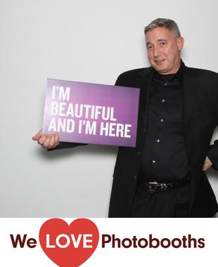 NY Photo Booth Image from The Copacabana in New York, NY