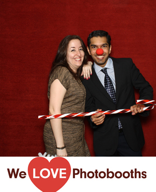 Time Warner Legal Department Photo Booth Image