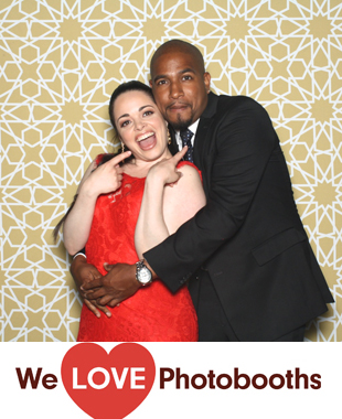 The Palm House at Brooklyn Botanic Garden Photo Booth Image