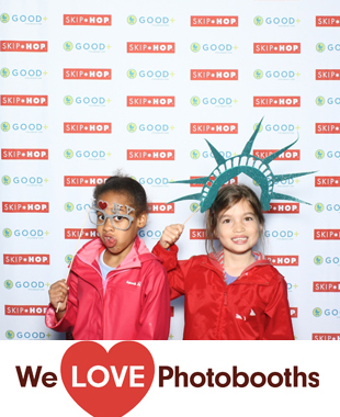NY  Photo Booth Image from The Victorian Gardens at Central Park in New York, NY