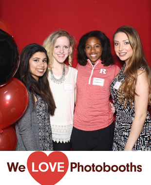 NJ  Photo Booth Image from  Busch Student Center in Piscataway, NJ