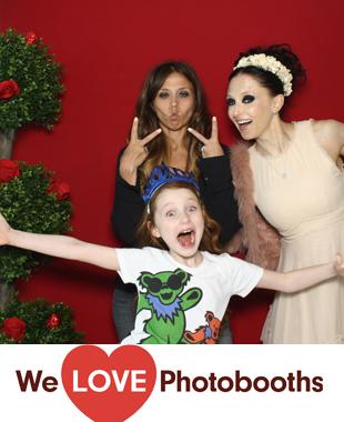 Alice + Olivia Showroom Photo Booth Image