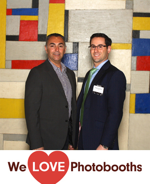 NY  Photo Booth Image from Time Life Building in NY , NY
