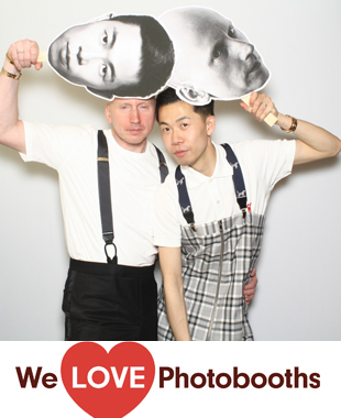 NY Photo Booth Image from Hudson Hotel in New York, NY