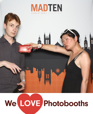 Princeton University Photo Booth Image