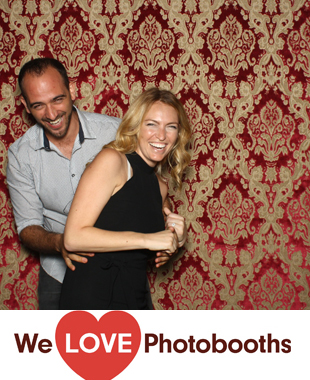 New York Photo Booth Image from Wave Hill in Bronx, New York