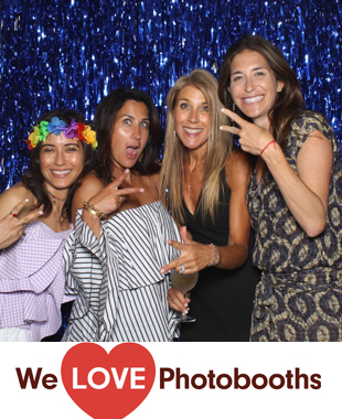 NY  Photo Booth Image from Private Residence in Sagaponack, NY