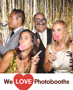 New York Photo Booth Image from Private Residence in Bedford, New York
