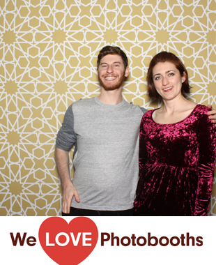 NY Photo Booth Image from Becketts in New York, NY